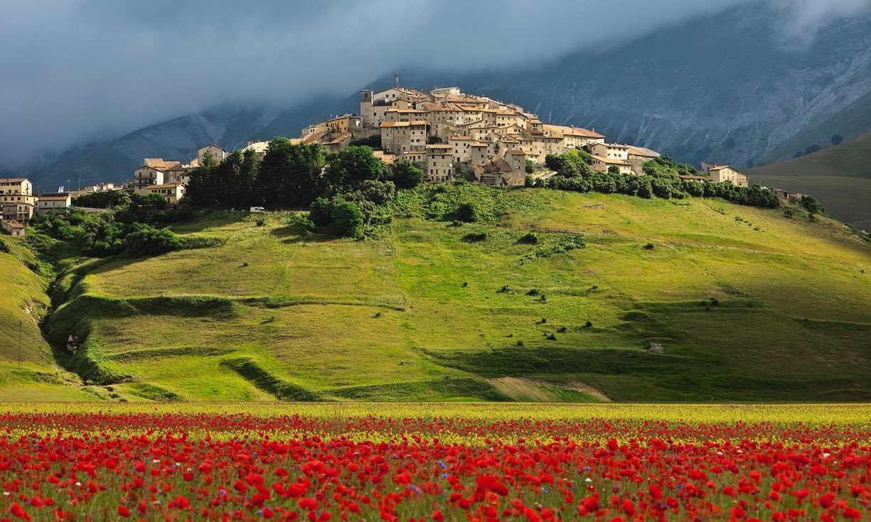 Umbria and its colours